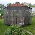 шатер тент +с москитной сеткой купить